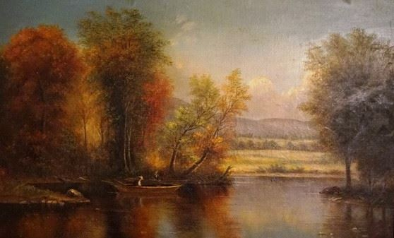 Benjamin Champney,  At the Lake